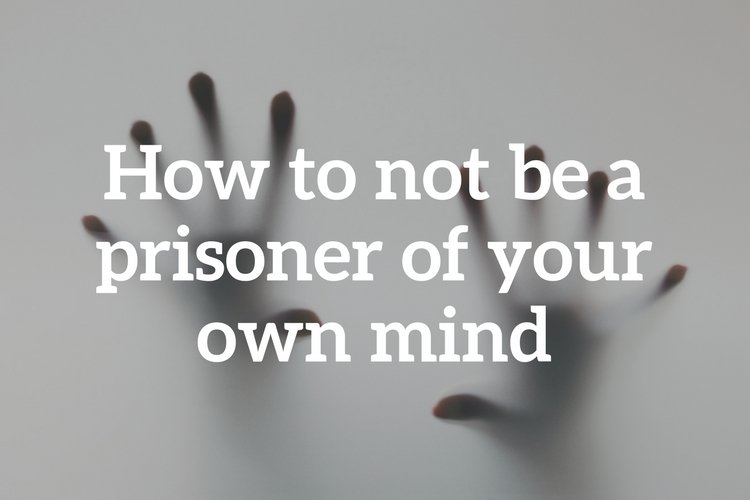 Using one of the DBT distress tolerance skills, Mindfulness of Current Emotions, you can help free yourself from being a prisoner of your own mind.