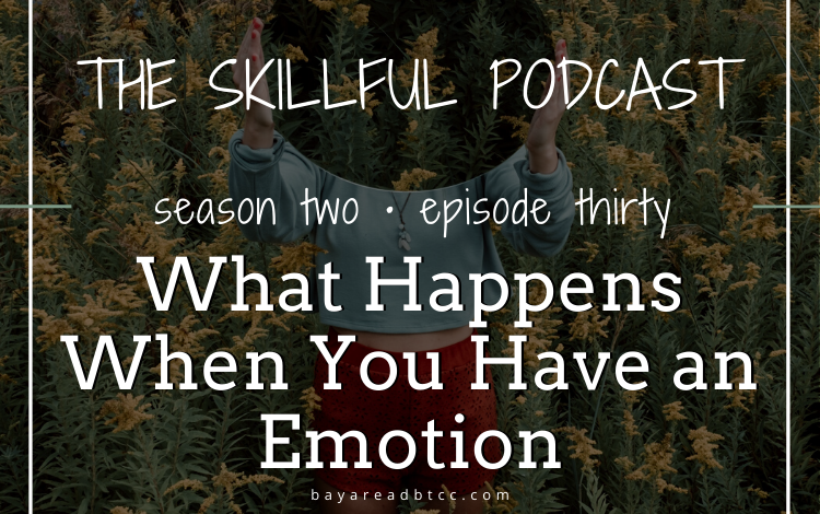 #30: What Happens When You Have an Emotion